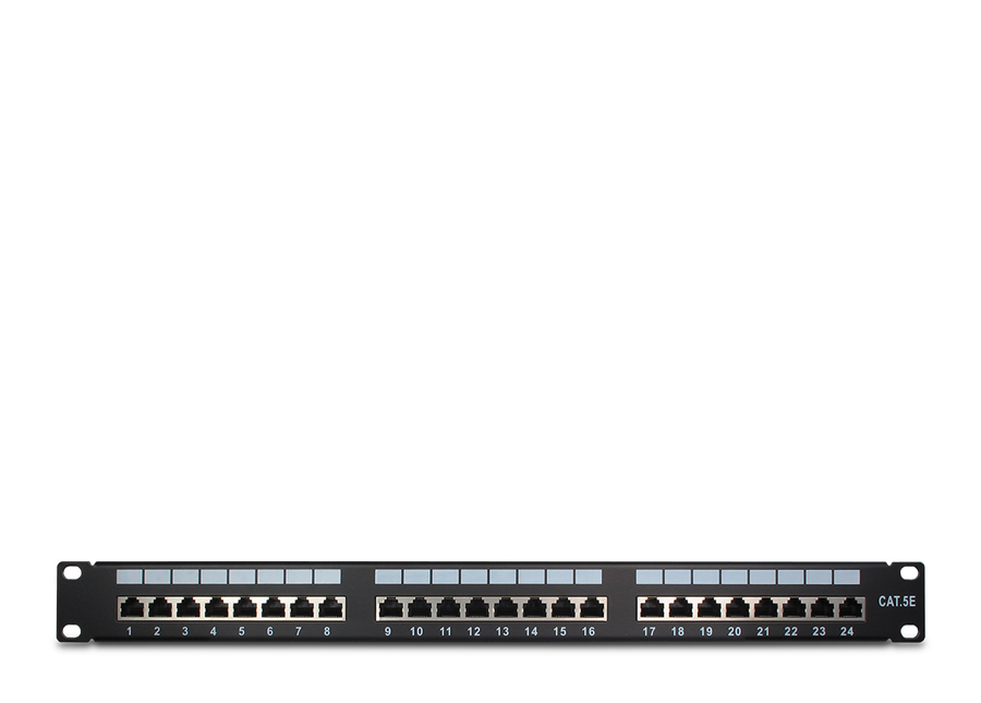 Patchpanel Cat5e STP 24 Port