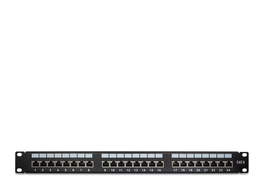 Patchpanel Cat6 STP 24 Port
